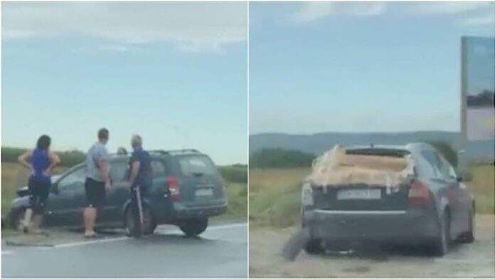 Accident în afara localității Oșorhei