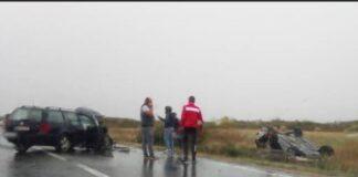 Accident la Tileagd: O femeie a ajuns la spital