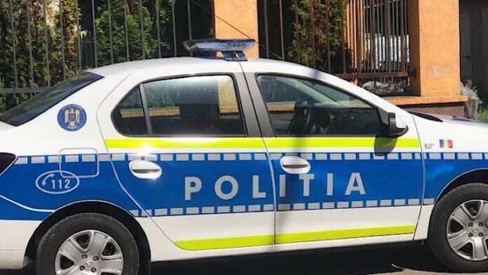 Poliția Aleșd mașina