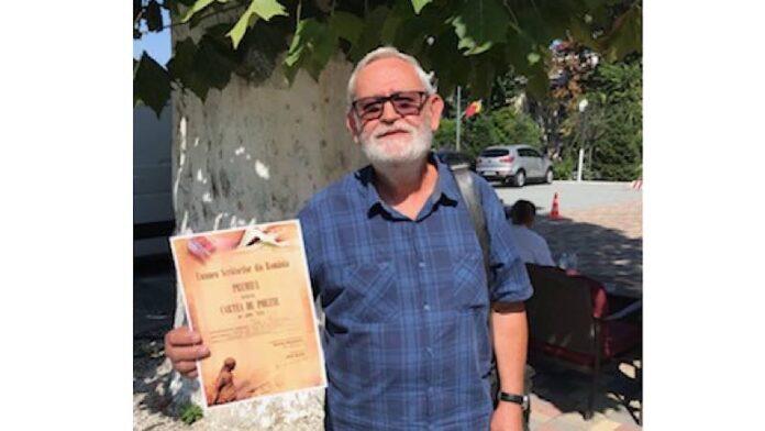 Ioan Moldovan, laureat al Premiului pentru Poezie al Uniunii Scriitorilor din România pe anul 2019