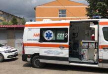 Poliția și ambulanta Aleșd