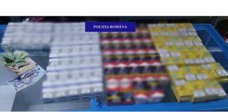 Ţigări de contrabandă descoperite într-un magazin din Aleşd