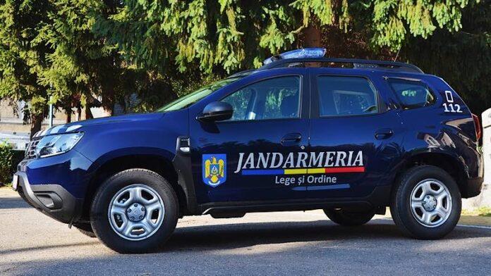 Jandarmi mașina
