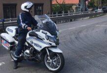 Motocicleta poliție