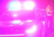 Poliția Aleșd mașină