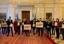 Silviu Dehelean și parlamentarii USR