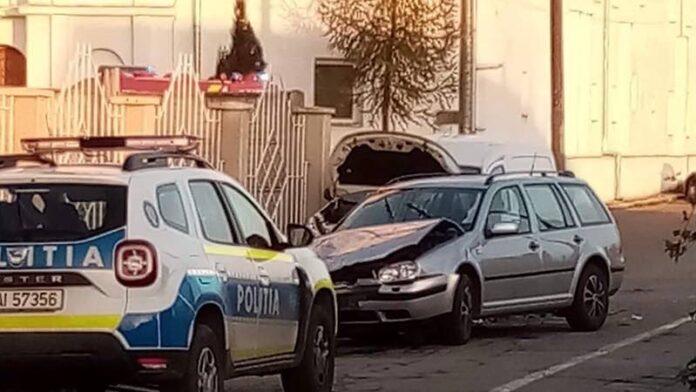 Accident în Oradea provocat de o şoferiţă
