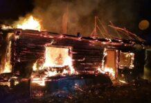Incendiu locuință Bulz