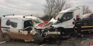 Accident între Oradea şi Marghita