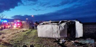 Accident în localitatea bihoreană Satu Nou