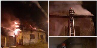 Incendiu la o locuință din cauza unei centrale termice amplasată necorespunzător