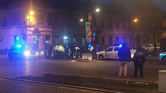 Femeie amenințată cu pistolul în Oradea după o șicanare în trafic