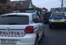 Mașini politie Aleșd