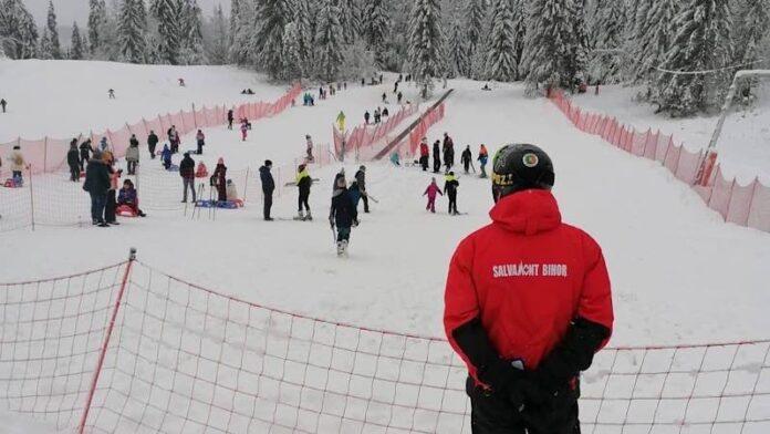 Partie ski stâna de vale