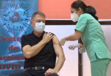 Preşedintele Klaus Iohannis s-a imunizat anti-COVID