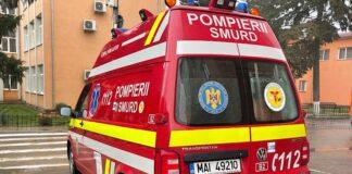 Ambulanța smurd Aleșd