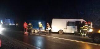 Accident mortal pe DN1 E60 Huedin – Aleșd