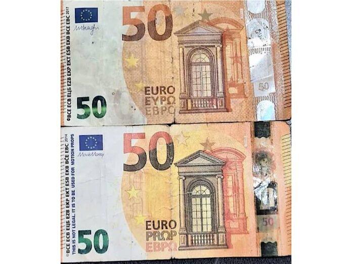 bancnote de euro false