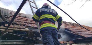Incendiu la o anexă gospodărească Dobricionești