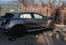 Două fetițe spulberate de o mașină care a ajuns pe trotuar în capitală