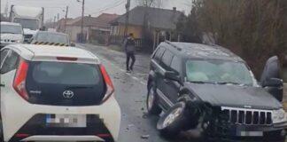 Accident în Borod