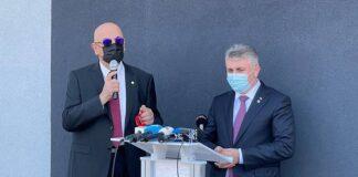 Dr. Raed Arafat si Lucian Nicolae Bode, ministrul Afacerilor Interne