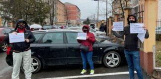 Părinții protest Aleșd
