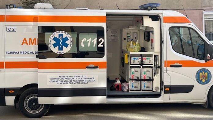 Ambulanța în Aleșd