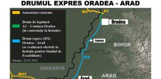 Drumul expres Oradea – Arad