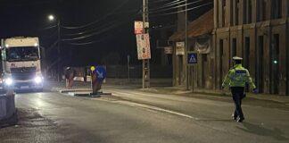 Poliția noaptea în Aleșd