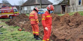 Pompieri mal de pământ