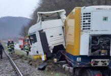 Accident pe DN1 E60 în Negreni