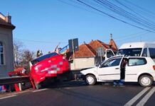 accident în Groși