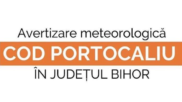 Cod Portocaliu avertizare