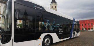 Autobuzul electric e-UpCity