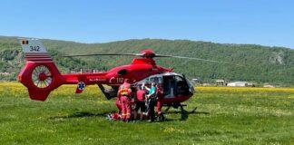 Accident în Josani