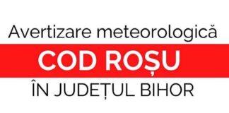 Cod roșu avertizare