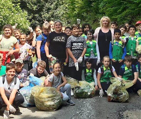 Luna curățeniei în comuna Bratca
