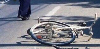 Bicicleta accident