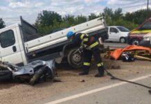 Accident motocicletă Beiuș
