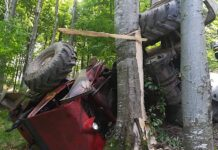 TAF răsturnat Borod