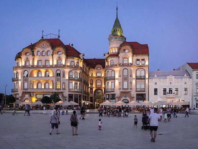 Piața Unirii din Oradea