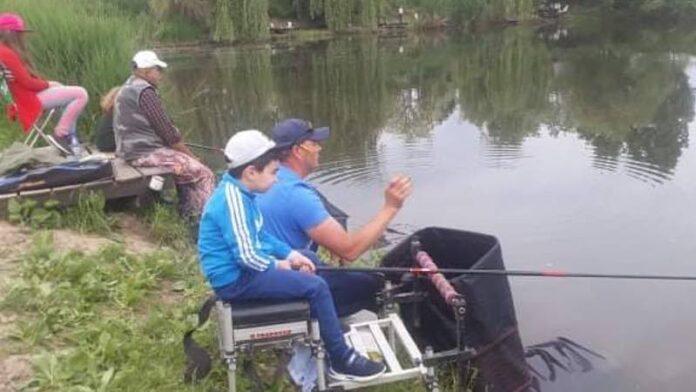 Concurs de pescuit copii