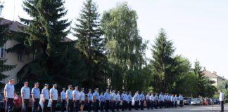 cadre avansate în grad la Jandarmeria Bihor