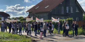 Protest centura Aleșd