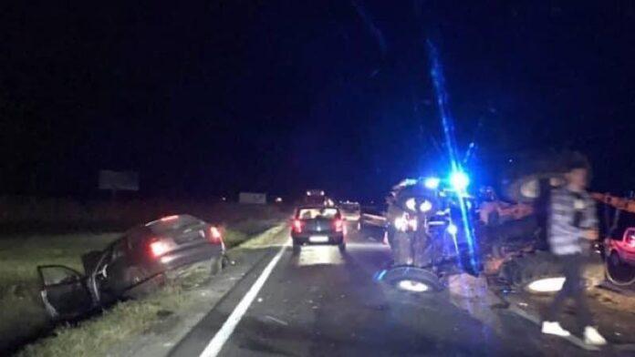 ACCIDENT lângă Aușeu
